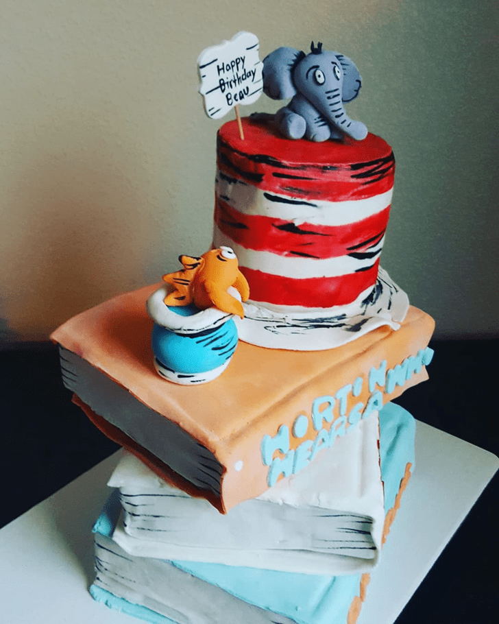 Magnetic Horton Hears a Who Cake