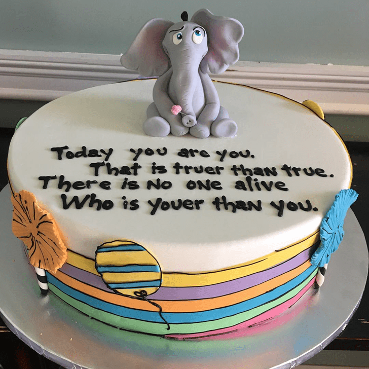 Magnificent Horton Hears a Who Cake