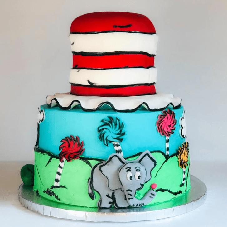 Shapely Horton Hears a Who Cake