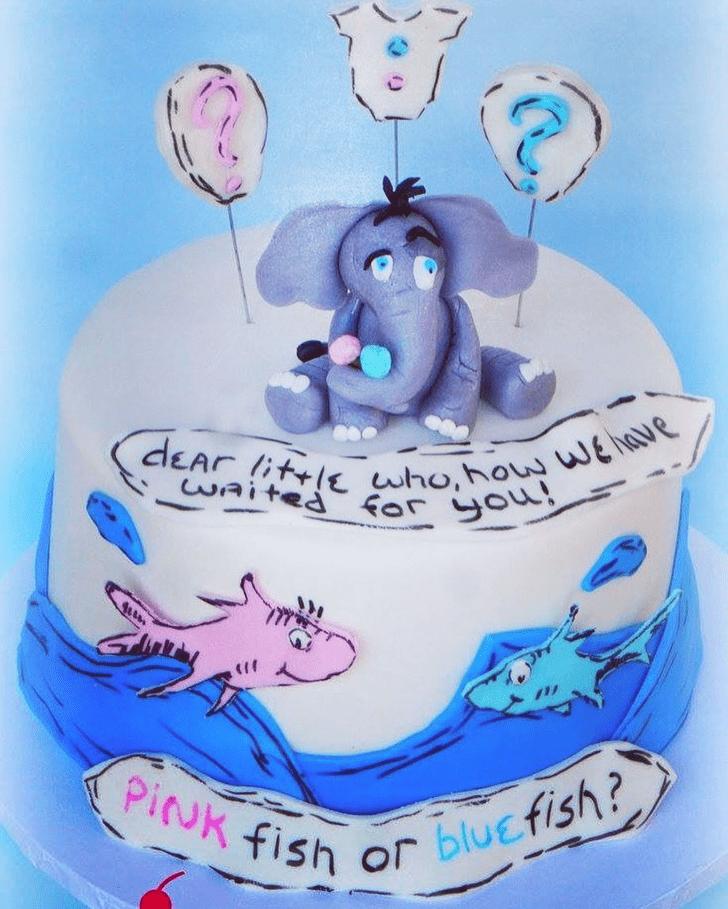 Splendid Horton Hears a Who Cake