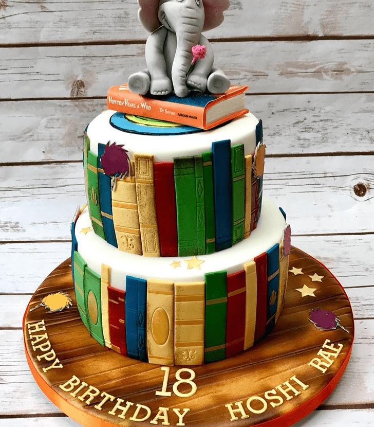 Stunning Horton Hears a Who Cake