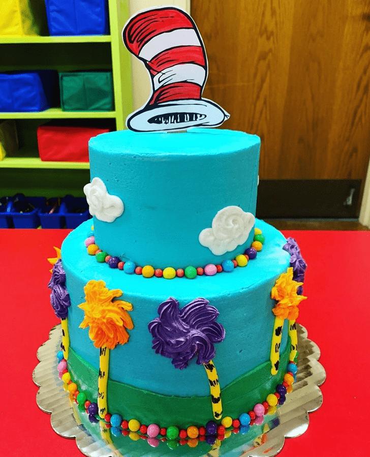 Superb Horton Hears a Who Cake