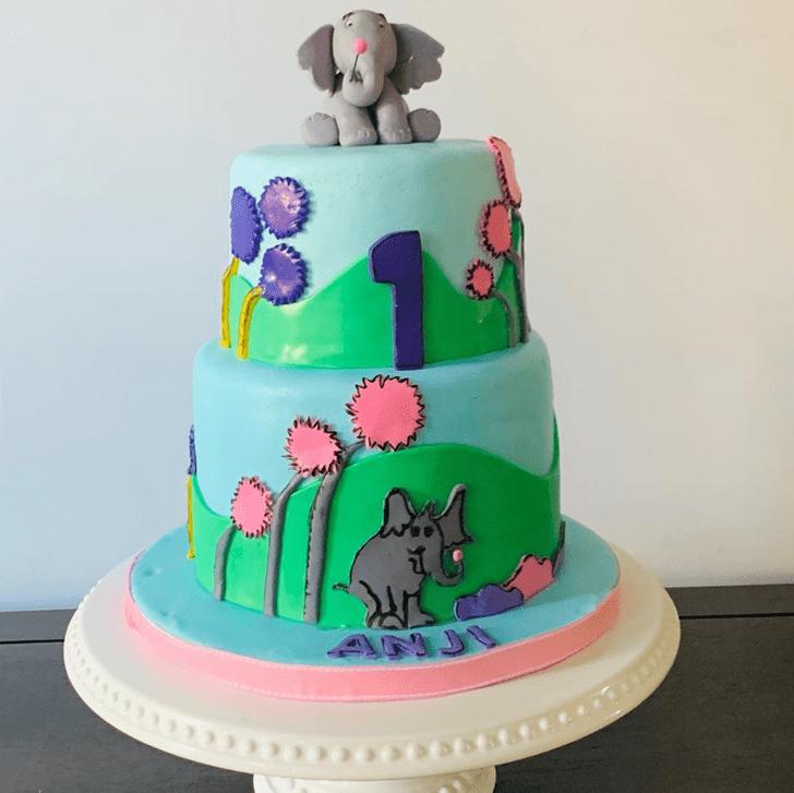Wonderful Horton Hears a Who Cake Design