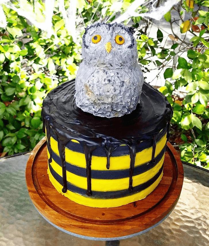Angelic Hufflepuff Cake