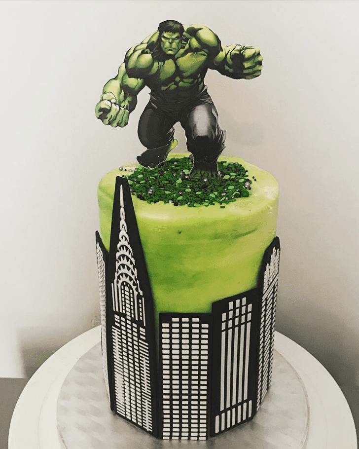 Bewitching Hulk Cake