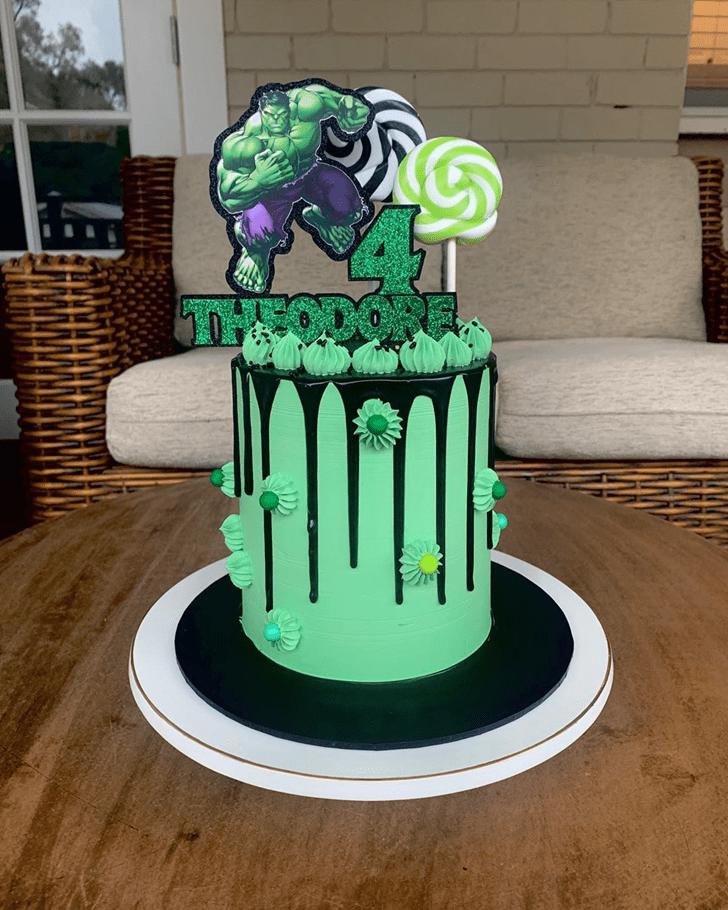 Fair Hulk Cake
