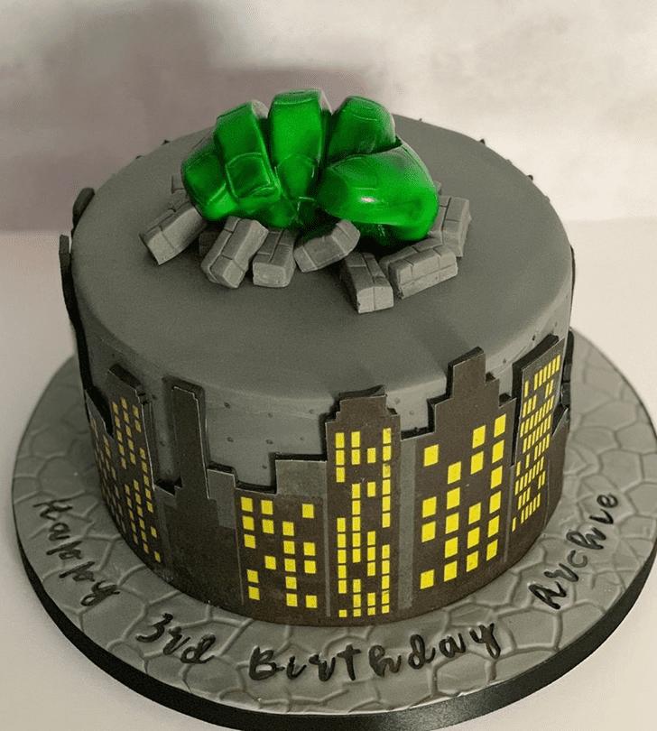 Fetching Hulk Cake
