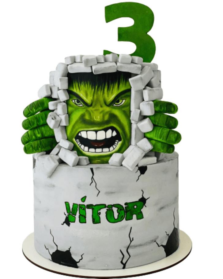 Gorgeous Hulk Cake