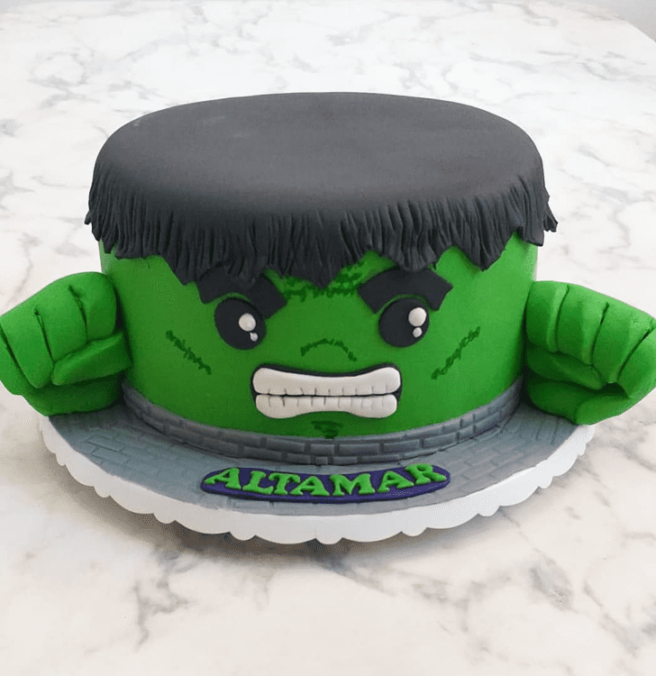 Grand Hulk Cake