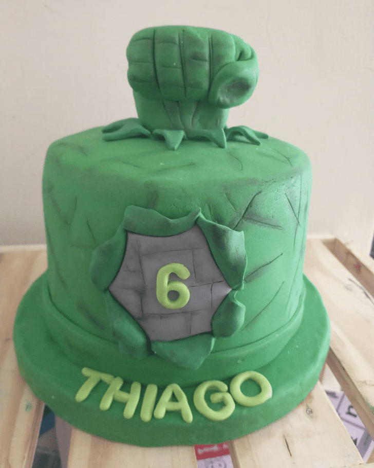 Ideal Hulk Cake