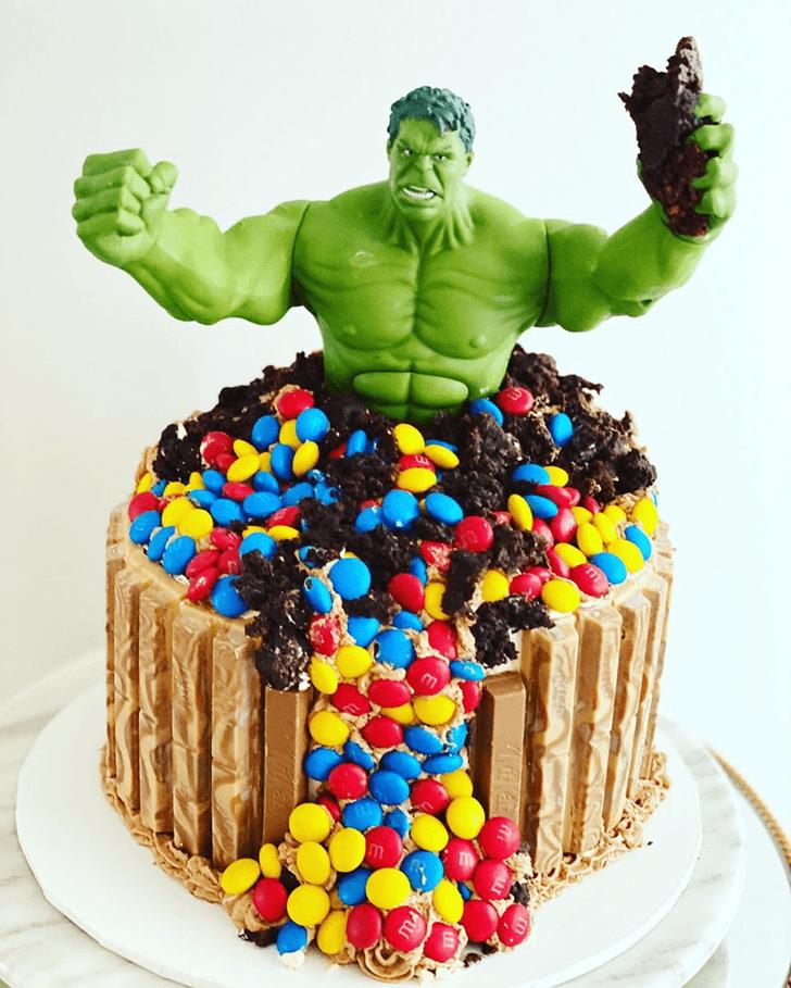Pretty Hulk Cake