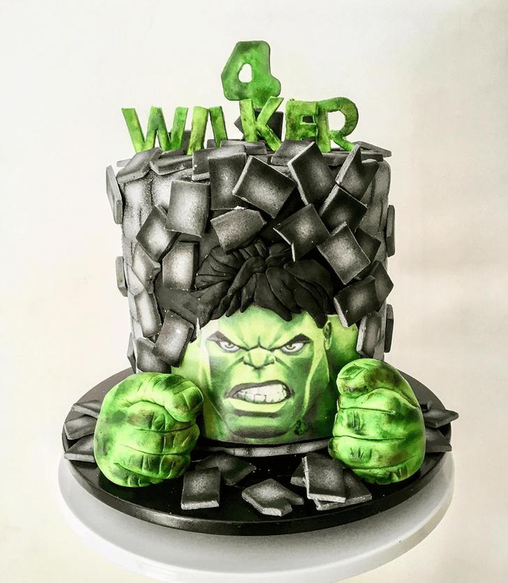 Radiant Hulk Cake