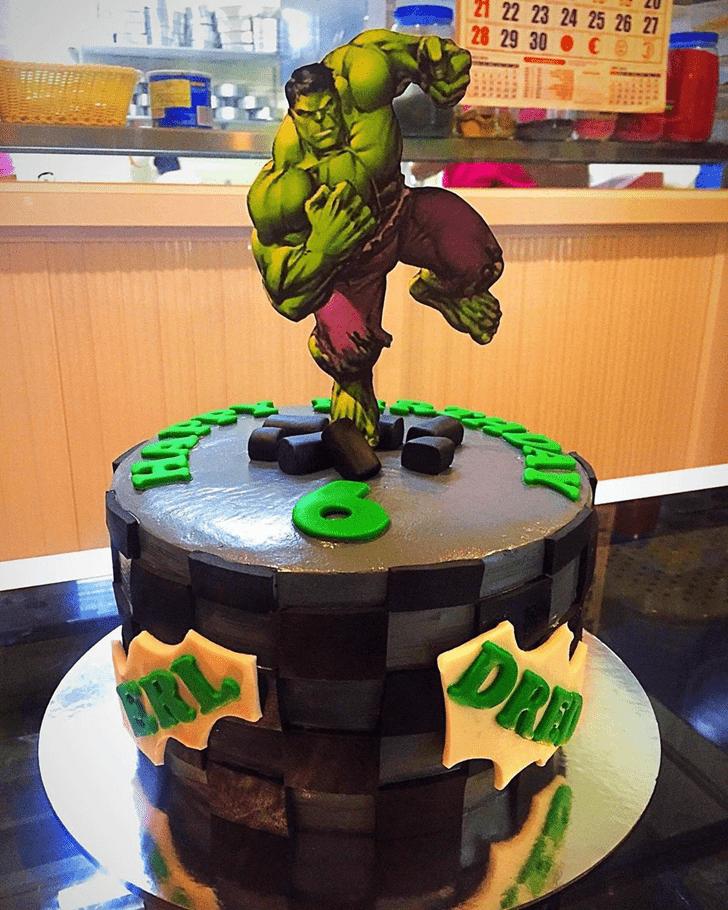 Ravishing Hulk Cake