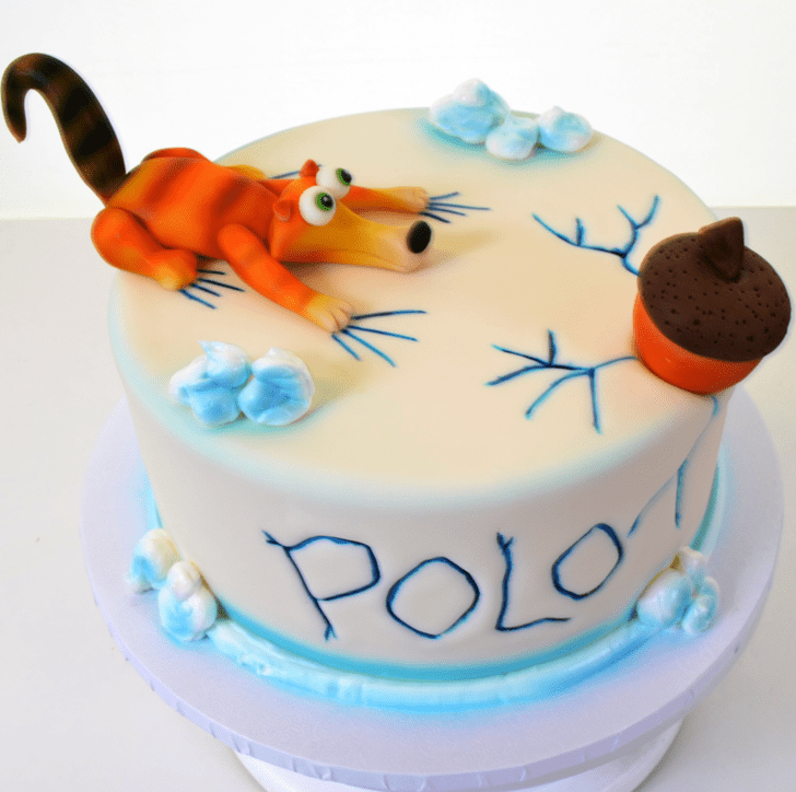 Adorable Ice Age Cake