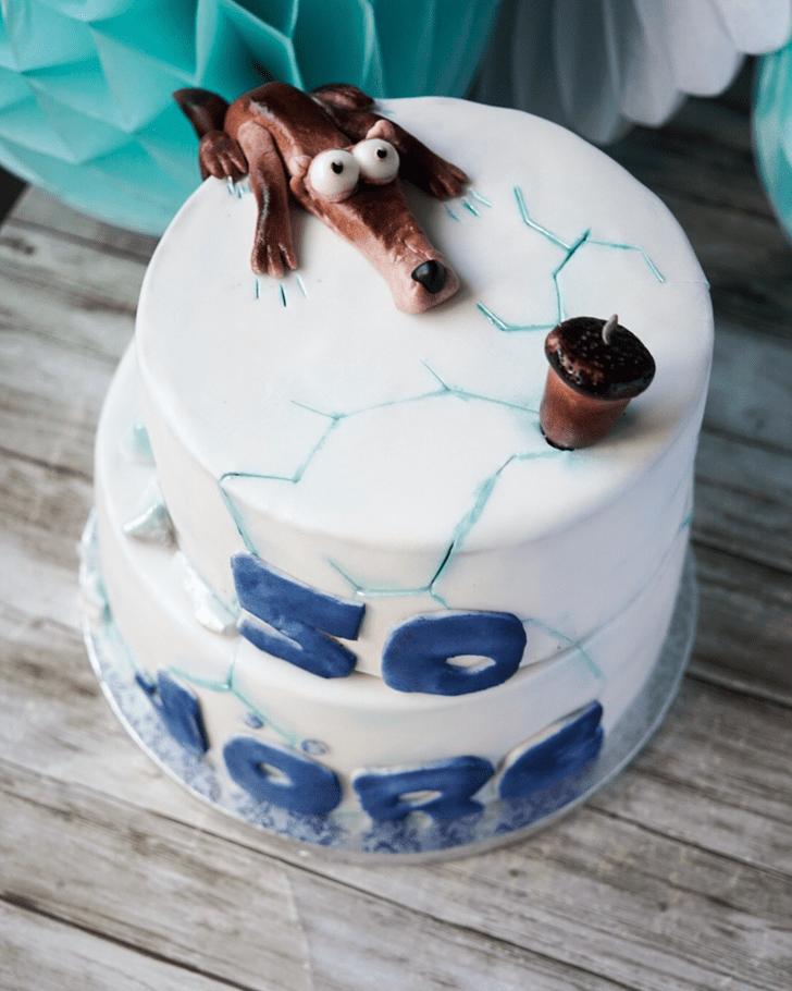 Alluring Ice Age Cake