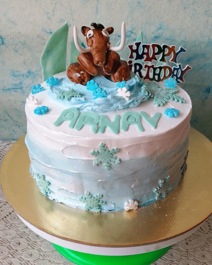 Angelic Ice Age Cake