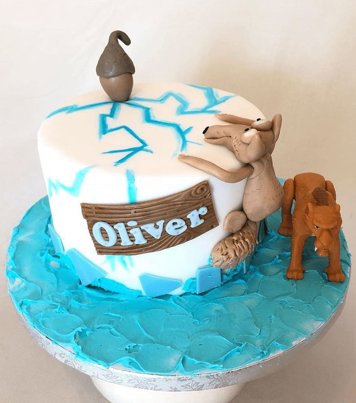 Appealing Ice Age Cake