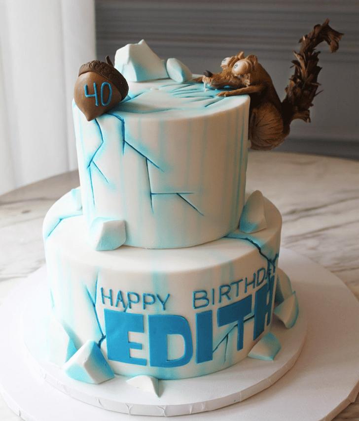 Beauteous Ice Age Cake