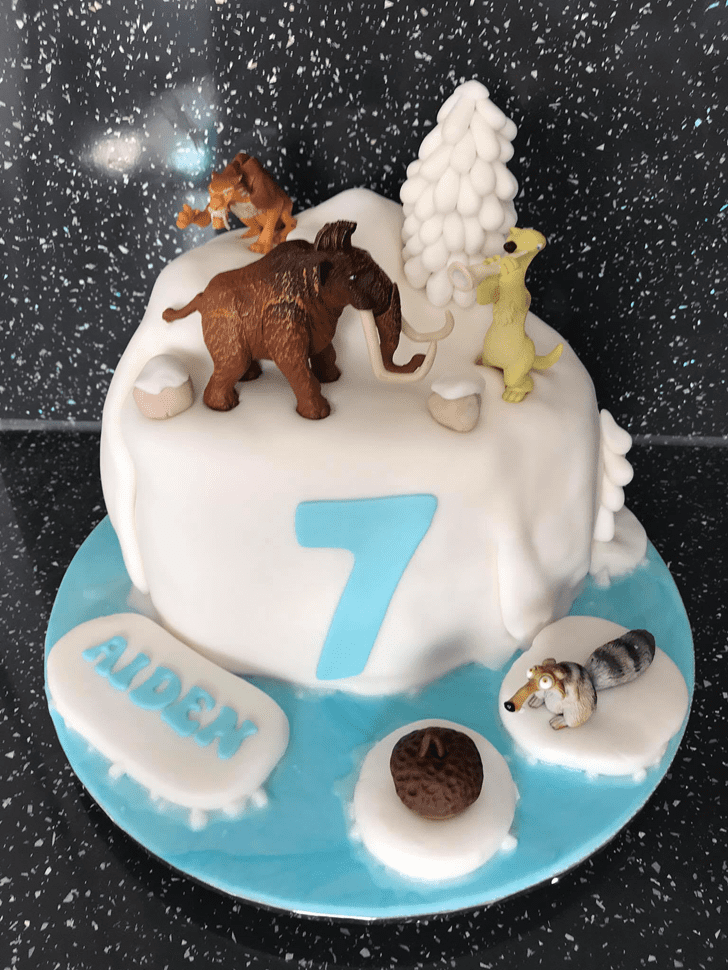 Comely Ice Age Cake