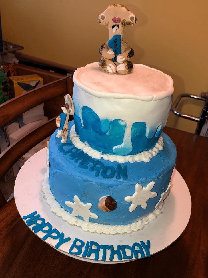 Delightful Ice Age Cake