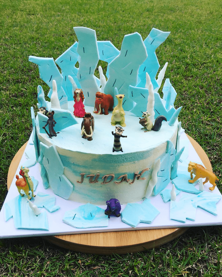 Divine Ice Age Cake