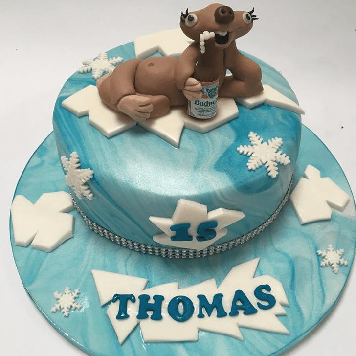 Elegant Ice Age Cake