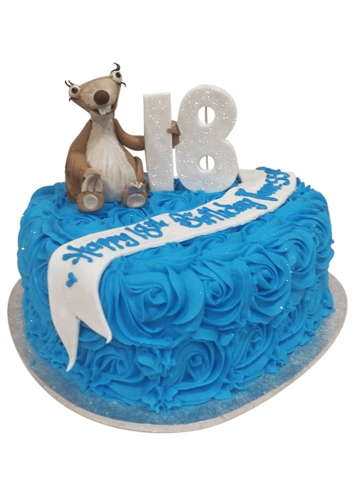 Enthralling Ice Age Cake
