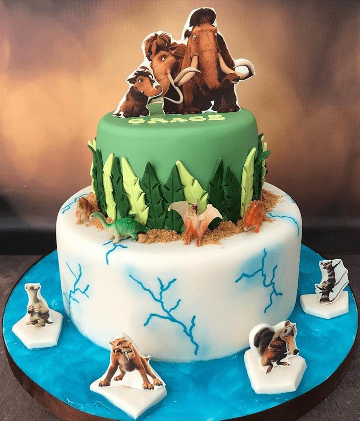 Enticing Ice Age Cake