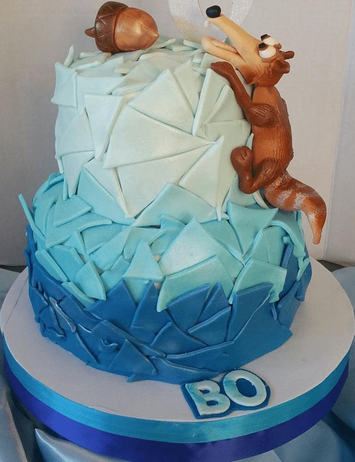 Exquisite Ice Age Cake