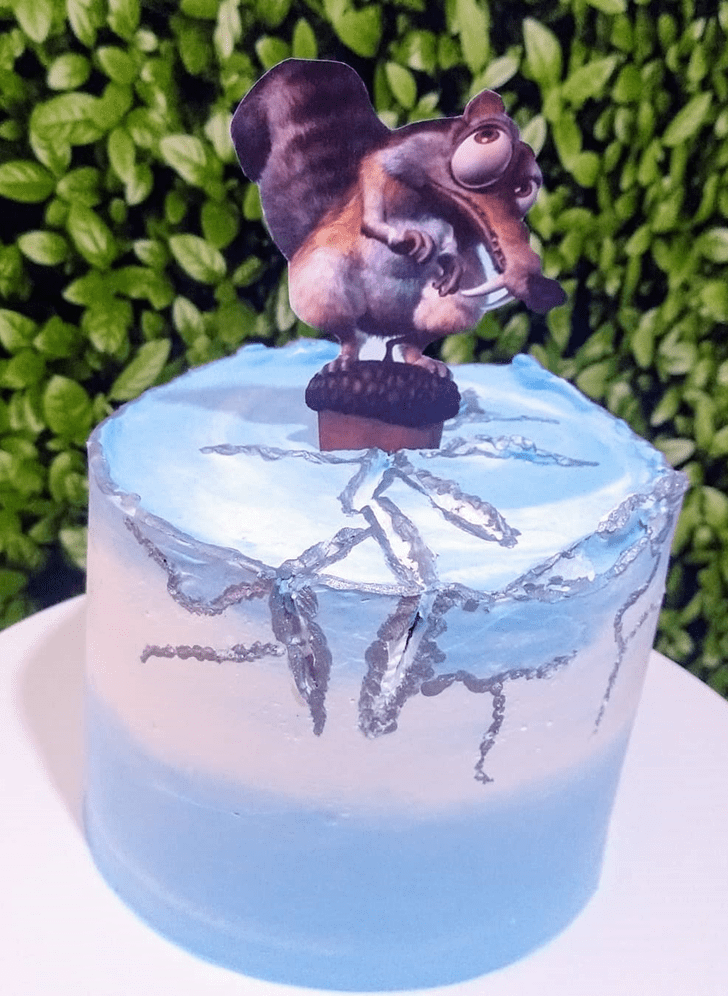 Fascinating Ice Age Cake
