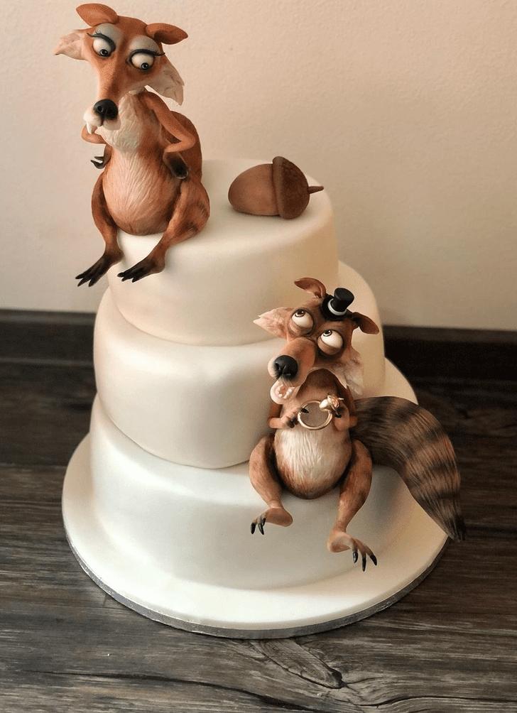 Fetching Ice Age Cake