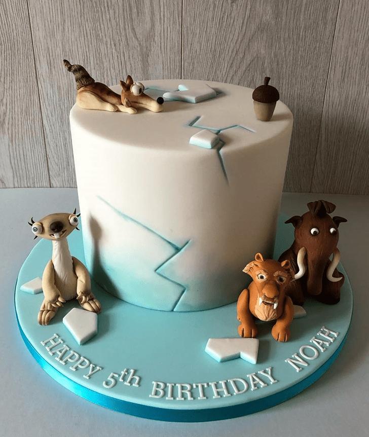 Fine Ice Age Cake