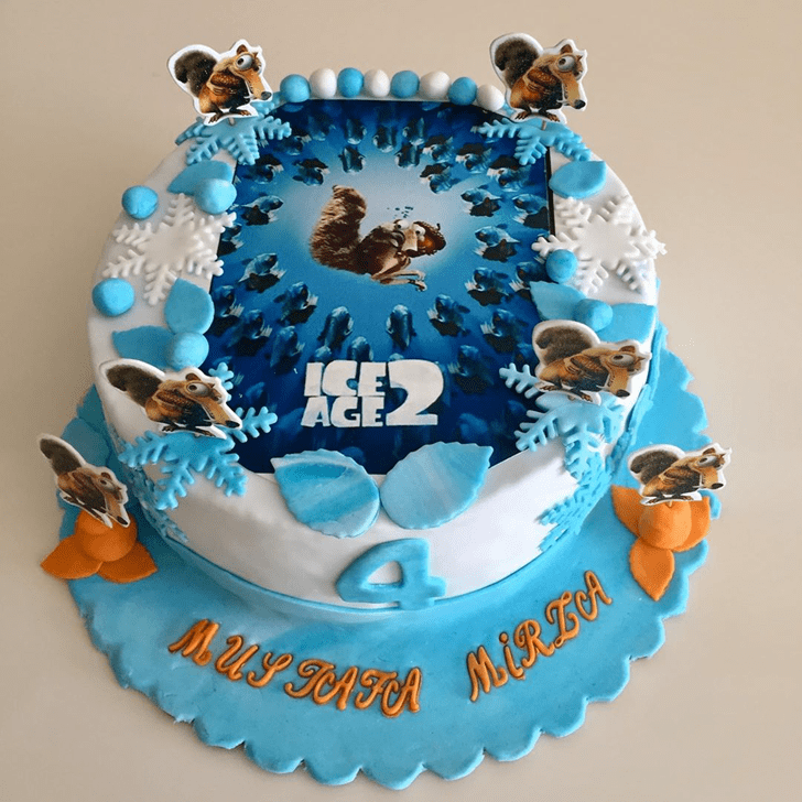 Good Looking Ice Age Cake