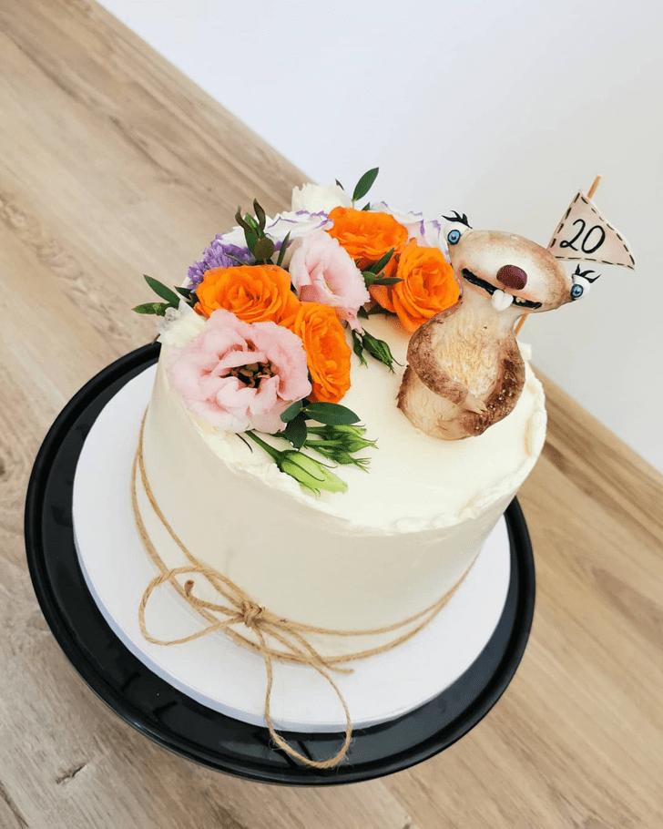 Gorgeous Ice Age Cake
