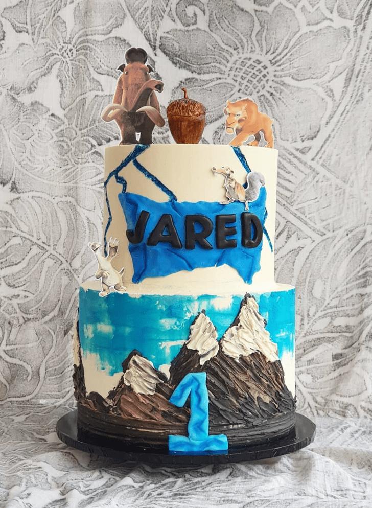 Handsome Ice Age Cake