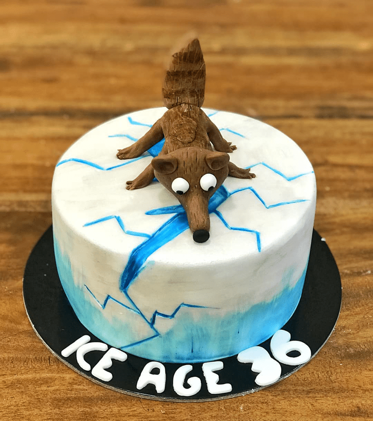 Magnetic Ice Age Cake