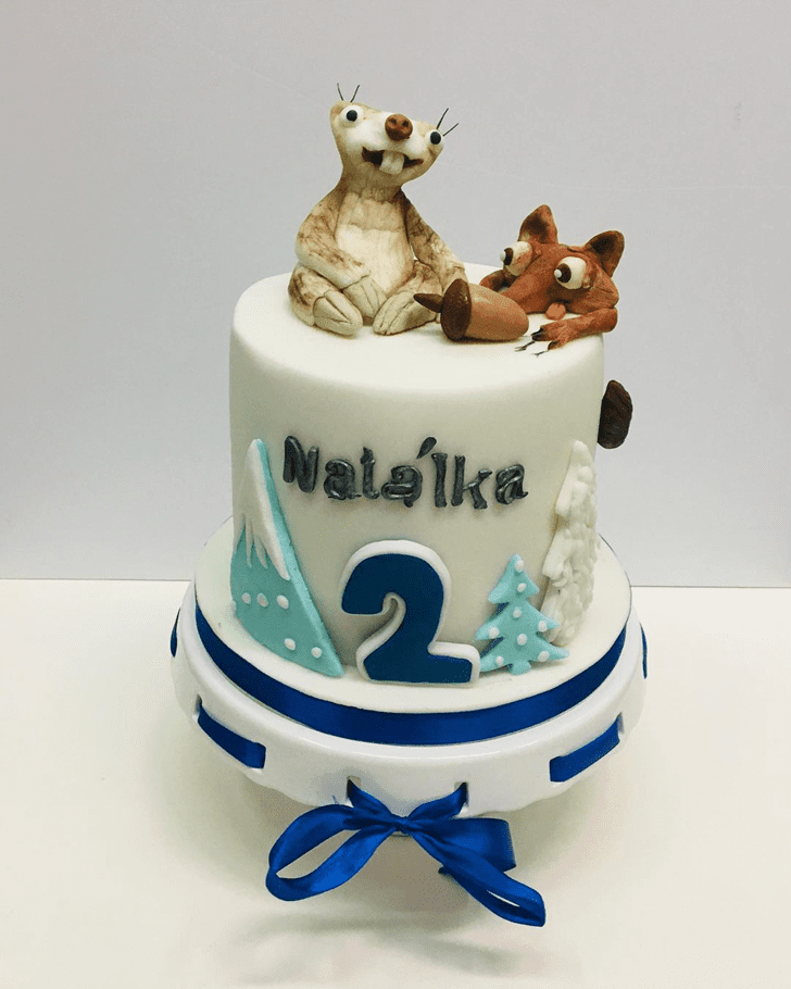 Magnificent Ice Age Cake