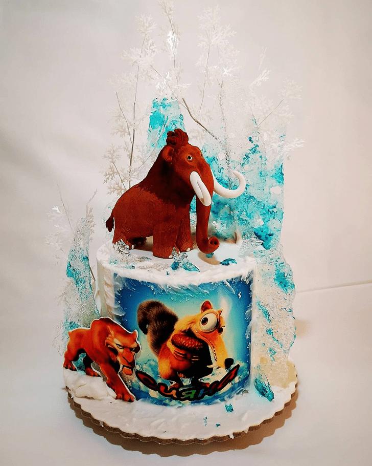 Nice Ice Age Cake