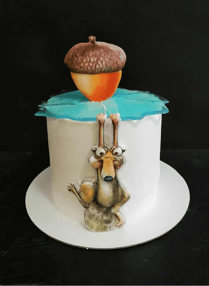 Refined Ice Age Cake
