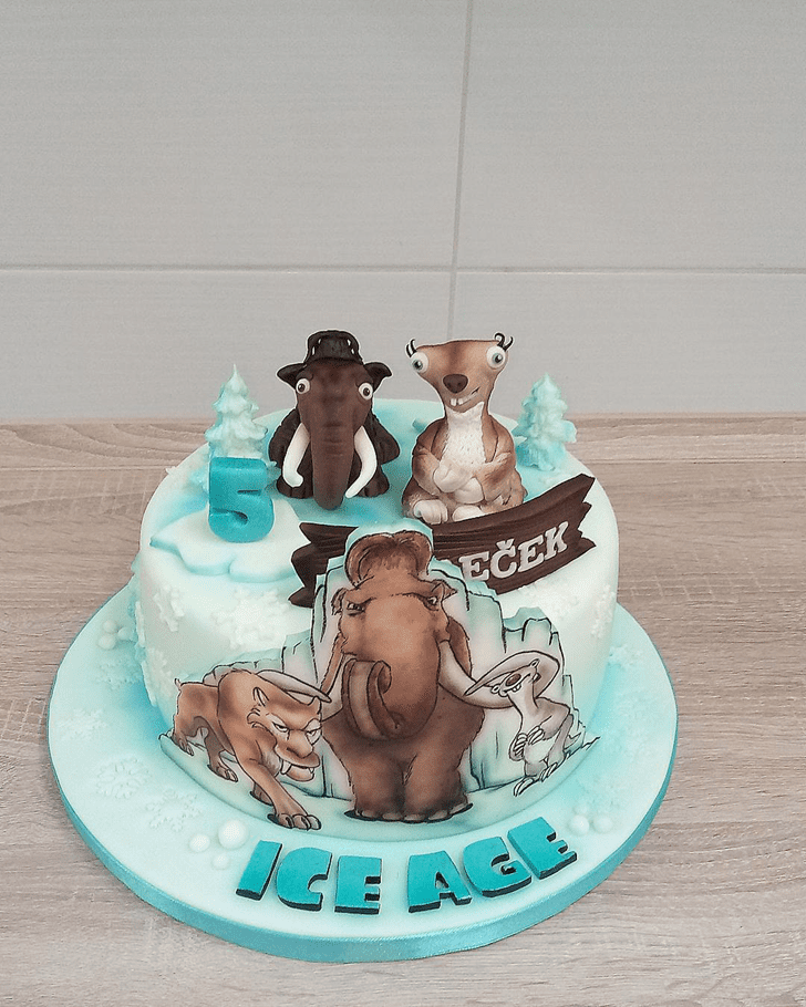 Slightly Ice Age Cake