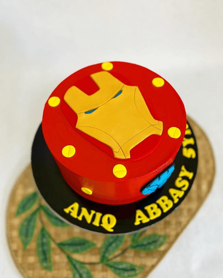 Refined Iron Man Cake