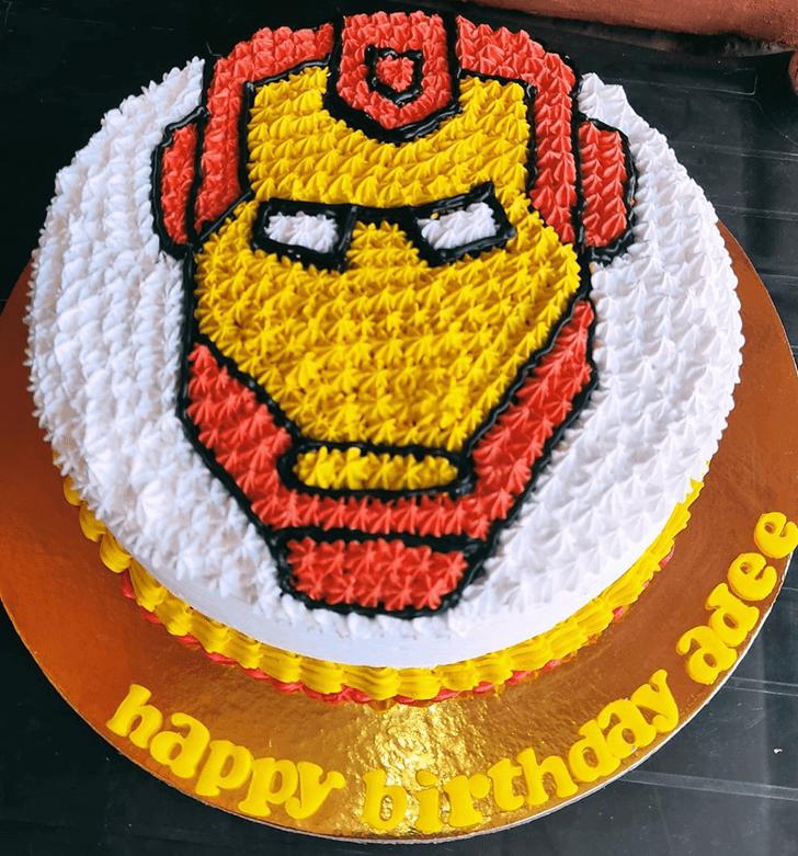 Shapely Iron Man Cake