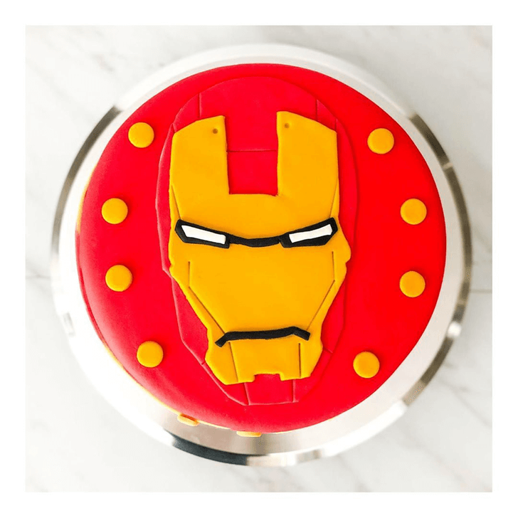Stunning Iron Man Cake