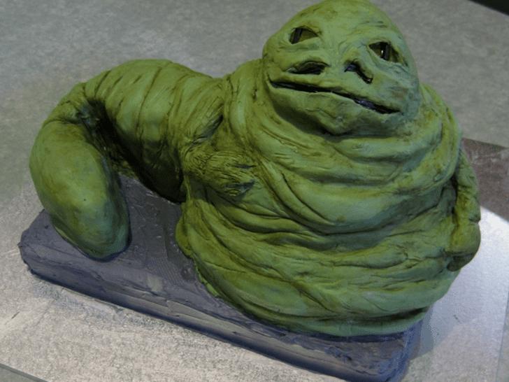 Appealing Jabba the Hutt Cake