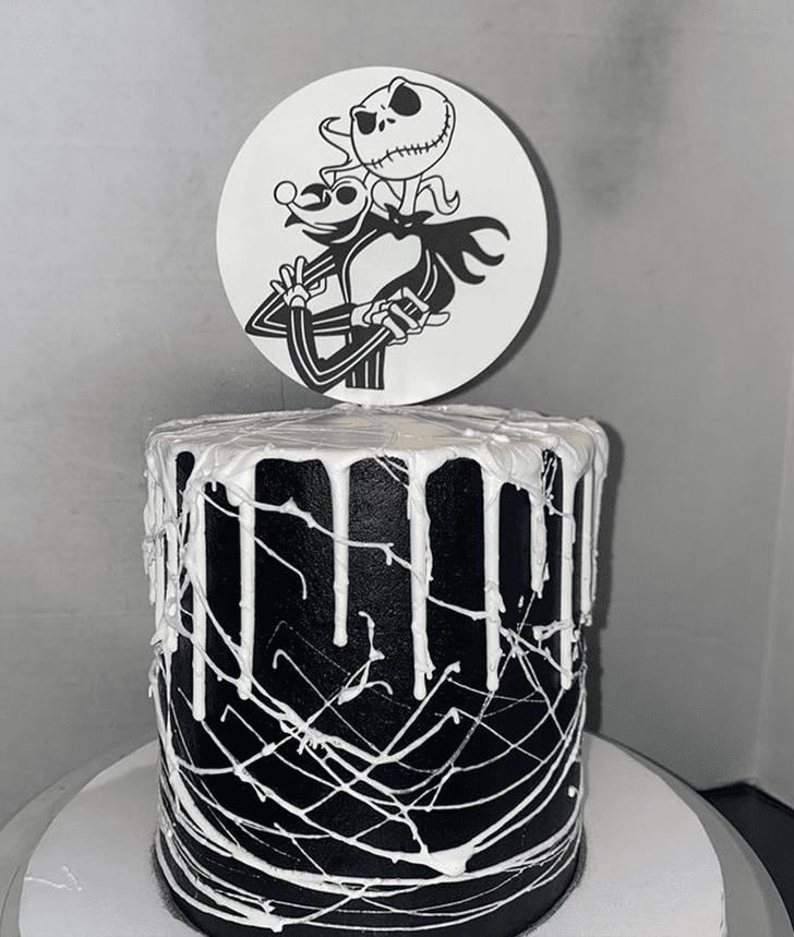 AnJack Skellingtonic Jack Skellington Cake