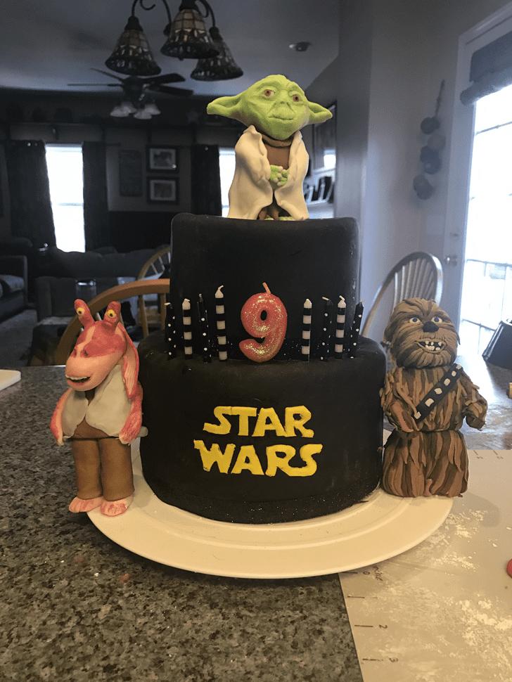 Alluring Jar Jar Binks Cake