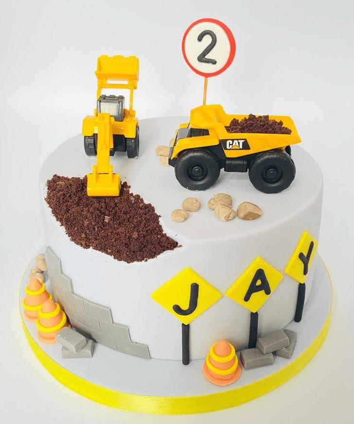 Admirable JCB Cake Design