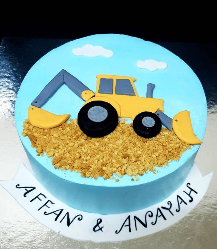Alluring JCB Cake