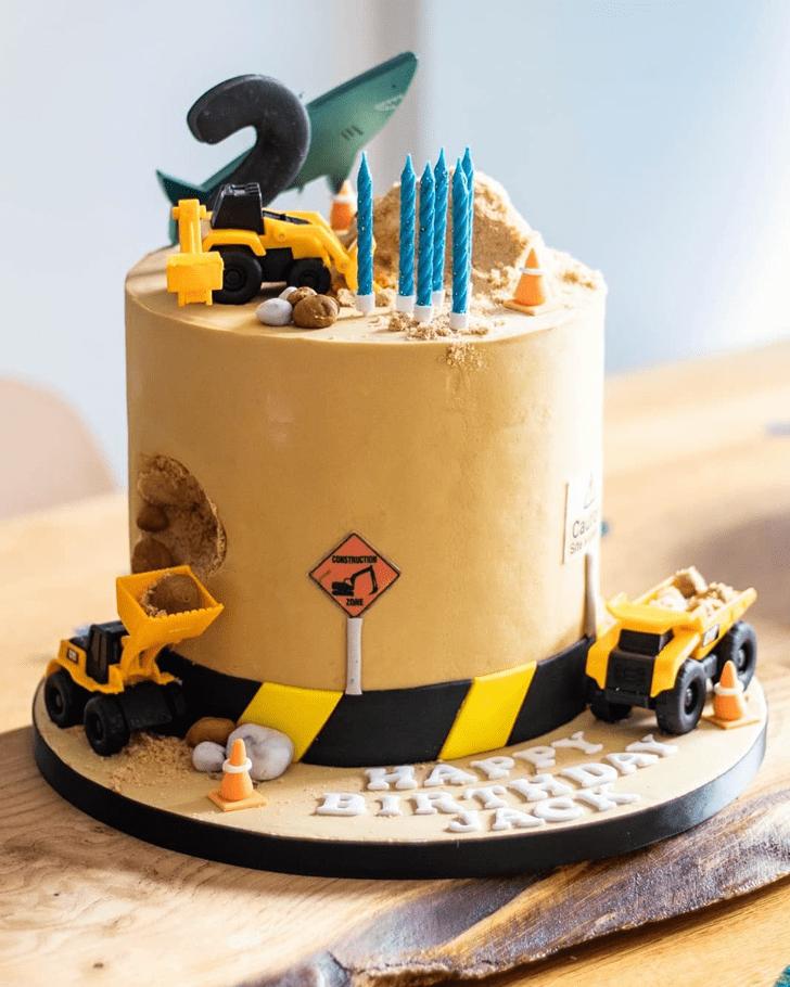 Captivating JCB Cake