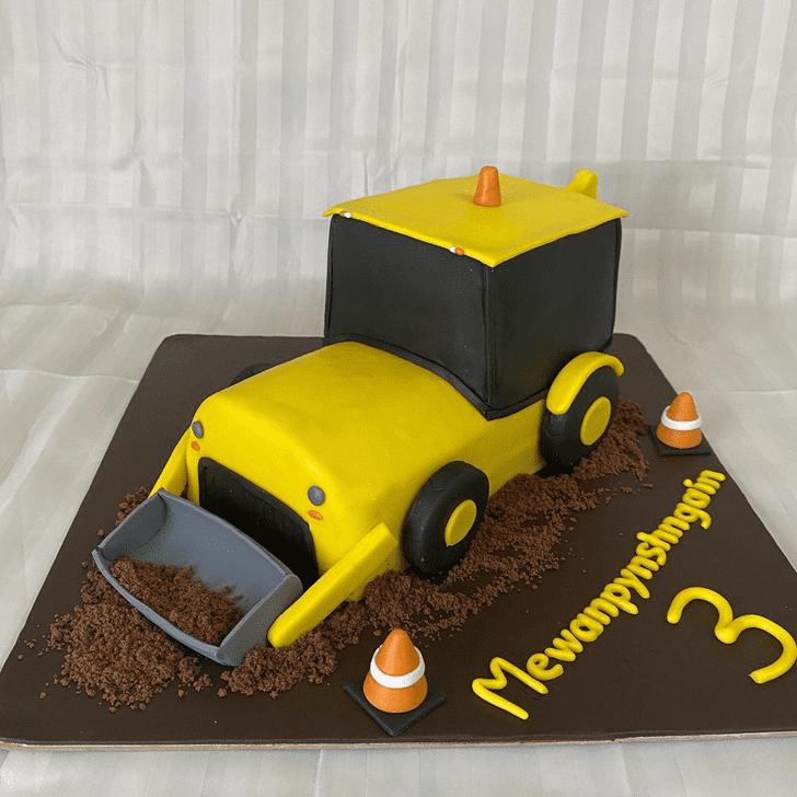 Delightful JCB Cake